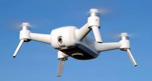 Lorsque le quadcopter breeze 4k – video test est allumé
