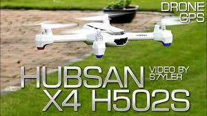 hubsan h502s - test - x4 fpv